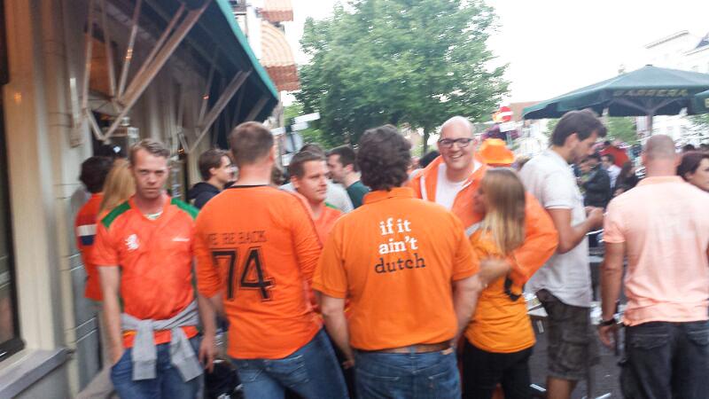 WK 2014 Australië – Nederland